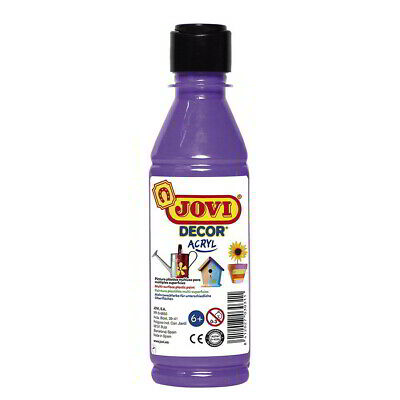 Pintura Acrílica JOVI Decor Acryl, Botella 250 ml