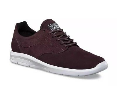 00b95326b91d44 New VANS Mens 3.5 Womens 5 ISO 1.5 Suede Iron Brown True White Athletic  Sneakers