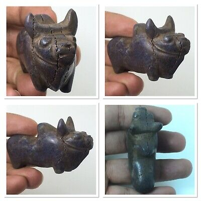 superb Indus Valley civilization lapis lazuli bull