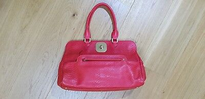 "Longchamp Gatsby 80% off! Womens Bag ( large )- Red Leather ""Snakeskin"" Genuine"