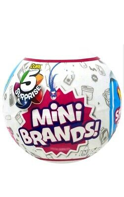 5 Surprise Mini Brands 1 Ball Made By Zuru 100 Real Authentic