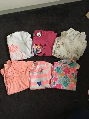 Girls Bundle Of Tops Tshirts Next Zara Primark 2-3 Years