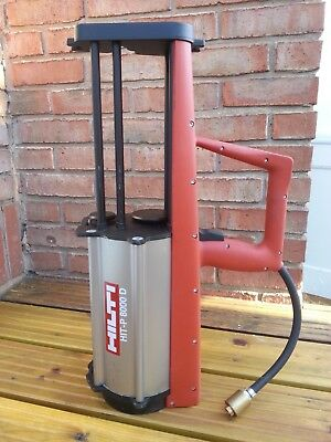 Hilti HIT-P 8000 D Pneumatic Dispenser 347086 in Truly Excellent condition