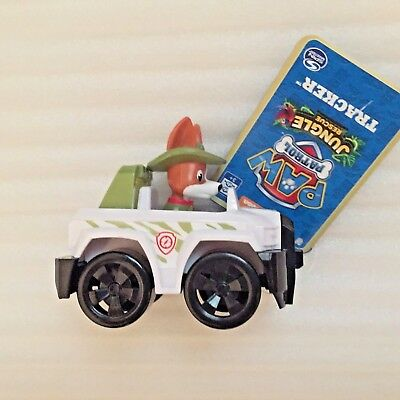 "NEW Paw Patrol Tracker Racers Jeep Jungle Rescue 3.5"" Racer Vehicle car small"
