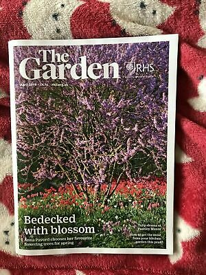 RHS The Garden Magazine - Brand NEW Monthly - April  2019
