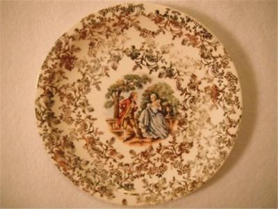 "Royal China Warranted 22 Karat Gold Vintage Plate 6.75"" Excellent Multiples Avai"