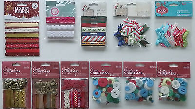Selection of Crafting Embellishments (Choice of 10)
