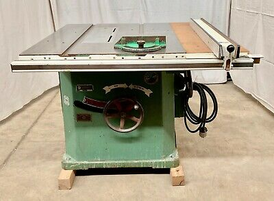 Northfield #4 Tilting Arbor Table Saw w/ Beisemeyer Fence 240V 3ph 5hp (101366)