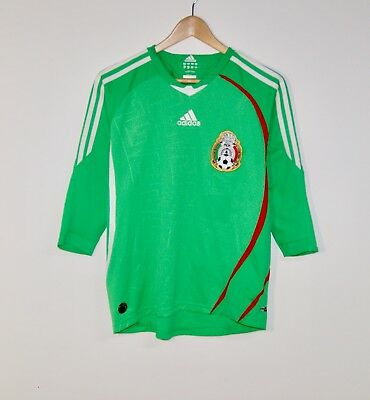 c55f64ce4 Adidas Mexico Soccer Jersey 2009 Half Sleeve Size Youth Large Futbol
