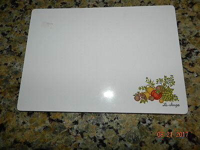 """Vintage Corning Ware Counter Top Saver Spice of Life La Sauge Pattern 10 x 14 """""""