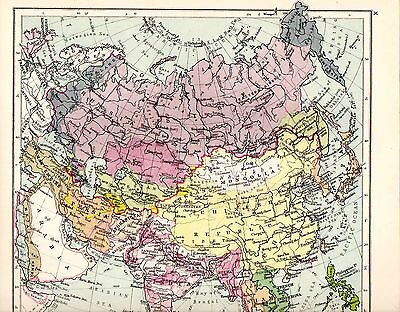 Map ~ European Powers On The Eve Of The Great War 1914 ~ Sandhurst Atlas