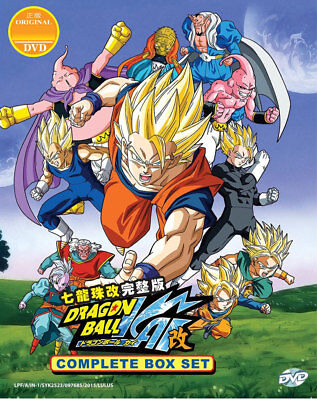 Dragon Ball Z Kai DVD Complete Boxset 1-167 (English Cantonese) USSellerShipFAST