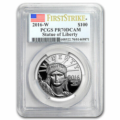 2016-W 1 oz Prf Platinum American Eagle PR-70 PCGS (First Strike) - SKU #98493