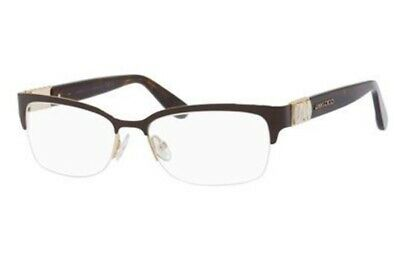 93517afd6ca NEW ORIGINAL JIMMY CHOO JC86 8TM Brown Havana Women Frame RX 53mm 16 135  ITALY