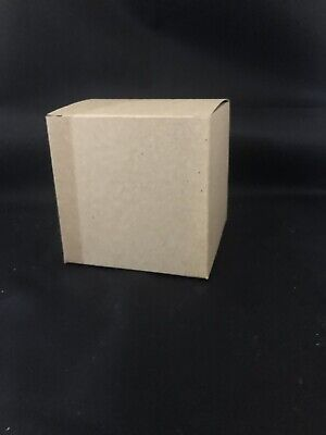10x Folding Kraft Paper Candy Box Handmade Candle Soap Gift Packaging Box