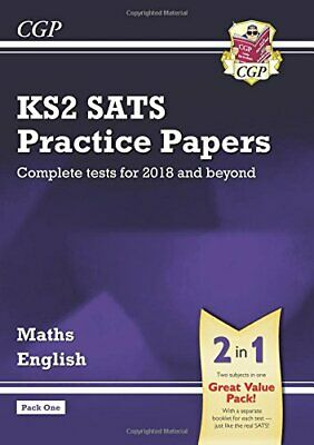 KS2 Maths and English SATS Practice Papers Pack (for the tests i... by CGP Books