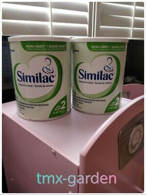 2 pack of Similac Infant Formula step 2 - Canada Local Cows'Milk-Always Fresh