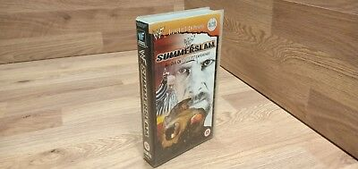 🌟WWF SUMMERSLAM 1998🌟WWE VHS video Silver Vision🌟Video VCR🌟