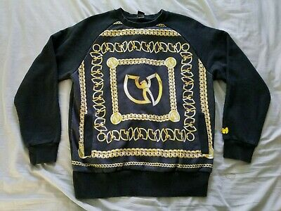 e919fa3fffc44 Wu Tang Brand Limited Wu Tang Chanel Crew Neck Sweatshirt Mens Size Medium