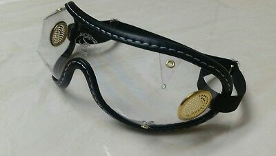 0e5706f568c Authentic USA Goggles~Horse Racing Jockey Skydiving-Brass Vents