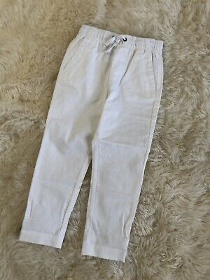 5a5b6b4b0 NEW CREWCUTS J. Crew Pants 8 Boys Green With Embroidered Navy Whales ...
