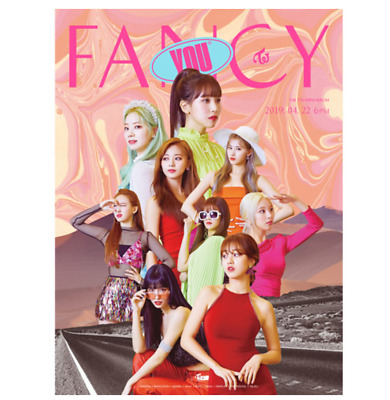 "K-POP TWICE New 7th Mini Album ""FANCY YOU"" Official - 1 Photobook + 1 CD / A Ver"