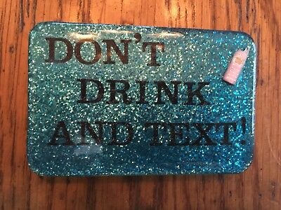 Belt Buckle - Don't Drink and Text!