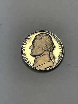 1981-S Type 2 (Clear and Flat S) Proof Jefferson Nickel