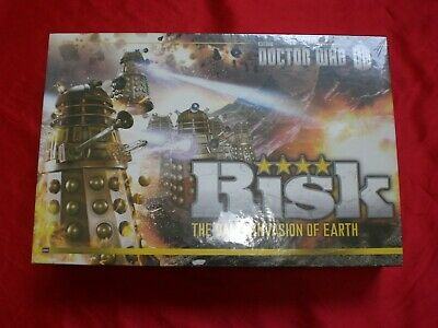 RISK DR  WHO Dalek Invasion Of Earth Board Game - $41 99