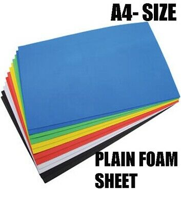 A4- Size Neoprene Plain Sponge/Foam Rubber Sheet Various Sizes & Thicknesses