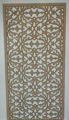 Radiator Cabinet Decorative Screening Perforated 3mm & 6mm thick MDFlasercutE88M