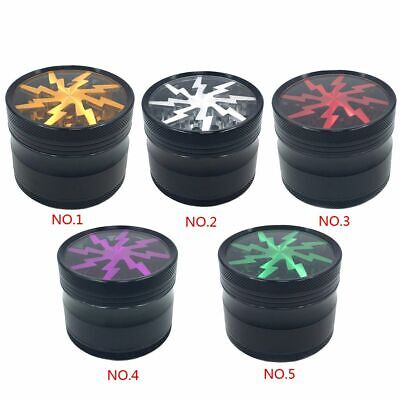 4 Layers Zinc Alloy Tobacco Herb Grinder Spice Herbal Hand Muller Smoke Crusher