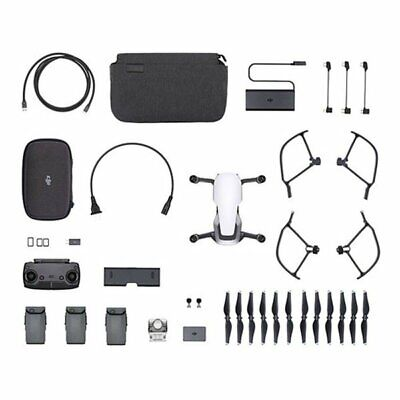 DJI Mavic Air Fly More Combo White Drone + Kit accessori Garanzia Dji Italia