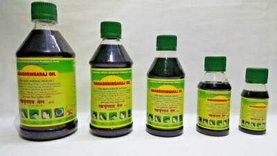 Maha Bhringraj Hair Oil Brahmi Amla Hair Growth Oil MahaBhringraj Scalp 100ml