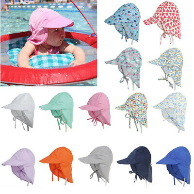 Sun Hat Baby Boys Girls Kids Summer Beach Hat Legionnaire Cap Cotton S/L