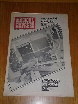 Nme 1976 January 3 Steve Cropper Chuck Berry Mike Oldfield Eno Sailor
