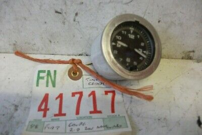 Fiat Coupe Time Clock 1998