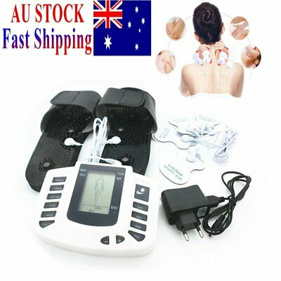Electric Pulse Muscle Relax Stimulator Massager Acupuncture Therapy Slipper Feet