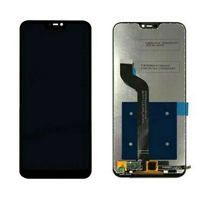 Touch Screen Vetro Lcd Display Per Xiaomi Mi A2 Lite Redmi 6 Pro Nero Black