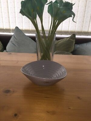 "Sophie Conran For Portmeirion 1 x Grey Cereal Bowl 7.25"" 17.5cm New & Unused"