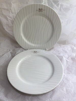 Sophie Conran For Portmeirion Pair of White Oak Side Plates 22cm - New Unused