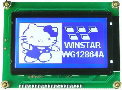 LCD Graphic Display Module, 128x64, White - WINSTAR