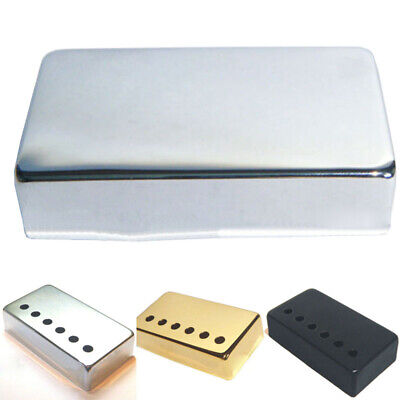 Humbucker Guitar Pickup Covers, In Silver, Black, Or Gold
