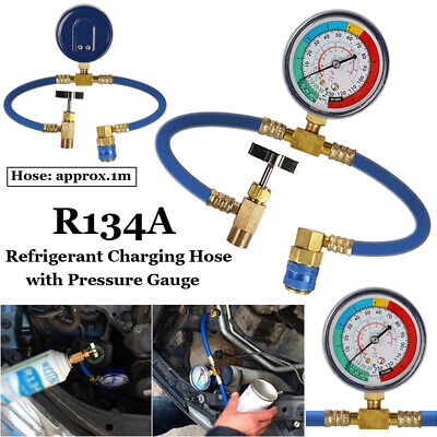 R134A RECHARGE MEASURING A/C Car Air Conditioning Gauge