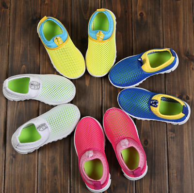 Baby Girl Boy Kids Summer Breathable Shoes Sport Sandals Children Sneakers Size