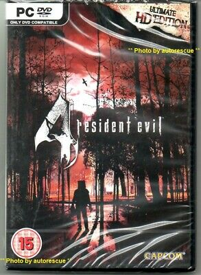 Resident Evil 4 HD Ultimate   'New & Sealed'   (PC-DVD)