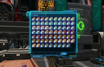 SWTOR: Hypercrate: Warbound Crusader Packs  (Star Forge) The Old Republic