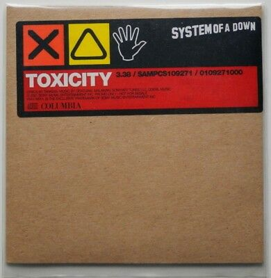 Single Cd Eu**System Of A Down - Toxicity (Columbia '01 / Promo)**Cd2443