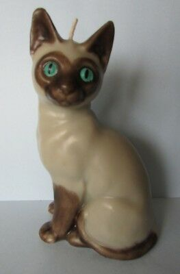 Fab Beautiful Siamese Cat Novelty Candle Ornament