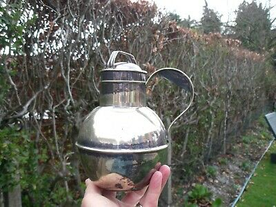 Silver Plated Guernsey Milk Jug or Can/Churn